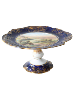 Aynsley plates and stand