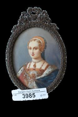 Portrait Miniature, possibly Robert Field (Circa 1769-1819)