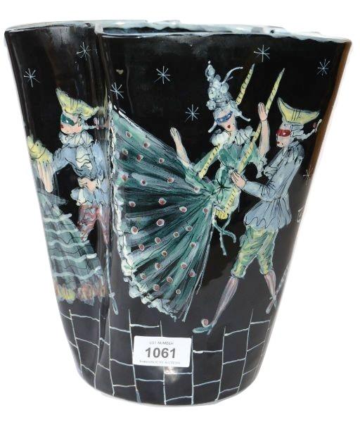San Polo Venetian studio pottery vas