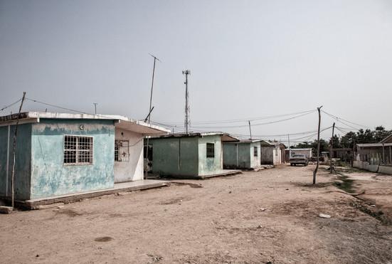 Lugar donde reside Maybelis Ledezma (13).  Ella tiene la enfermedad de Huntington. Barranquitas, Zulia. Venezuela. 2015.