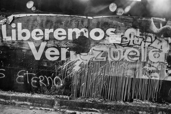 Graffiti en Altamira. Caracas 2017