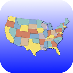 United States Map Quiz iPhone app