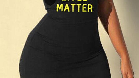 Black Lives Matter Dress