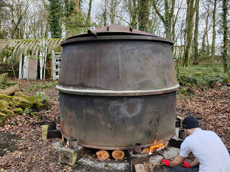 How to make Charcoal - The Trewan way