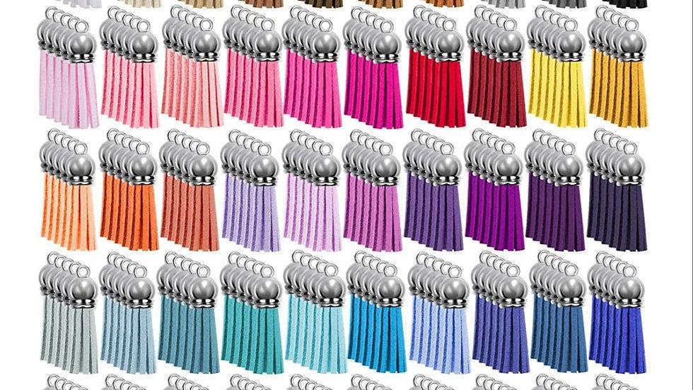 Coloured tassels