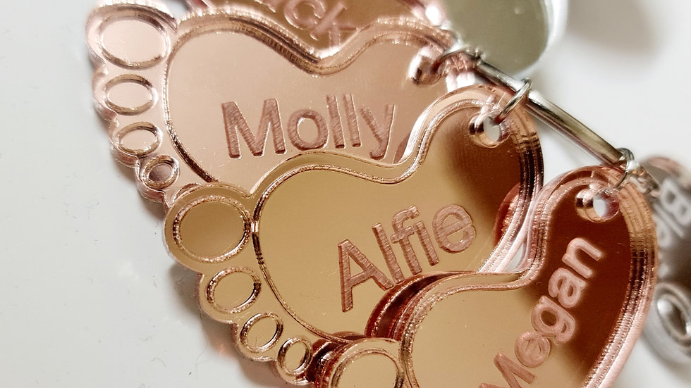 ENGRAVED ADD ONS FOR FAMILY KEYCHAIN