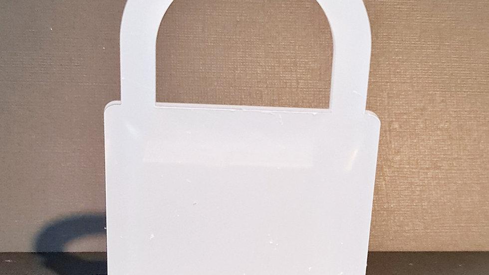 Freestanding padlock