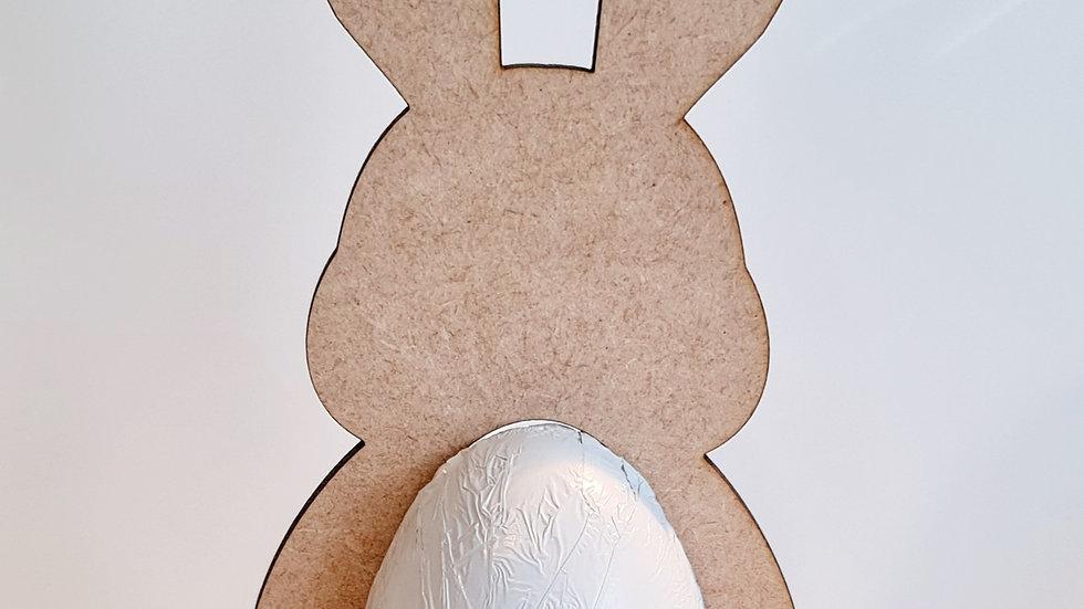Freestanding Mdf kinder holder bunnies wood