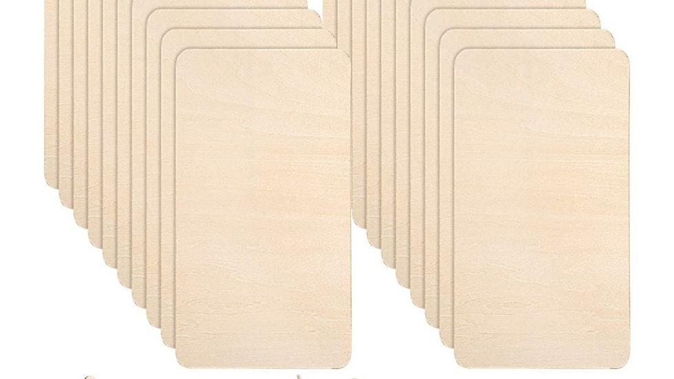 Balsa wood 2mm 20x10cm sheet for cricut maker 2mm thick