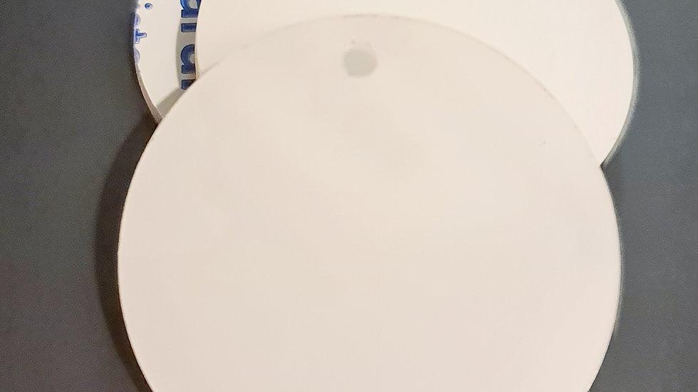 2mm 5cm circular keychain blanks clear acrylic