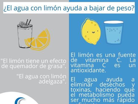 Mitos y realidades del agua con limón