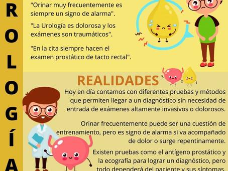 Mitos y realidades sobre la Urología
