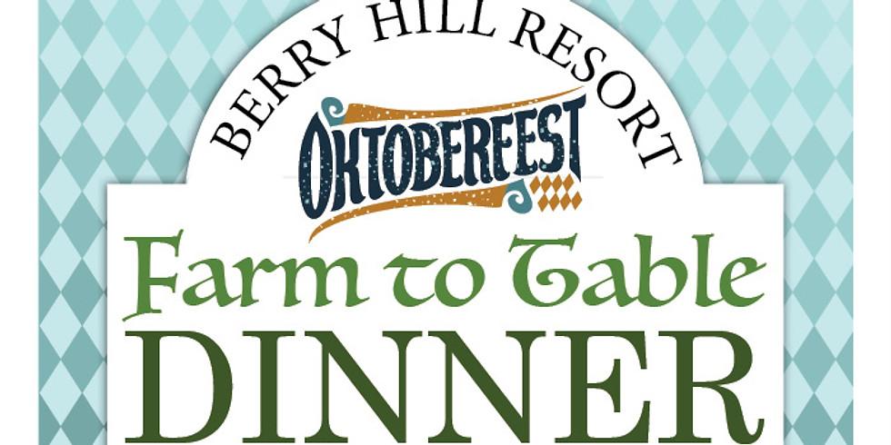 Oktoberfest - Farm to Table Dinner