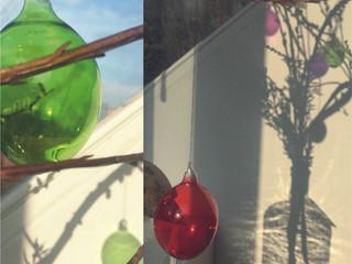 Unsere Glas-Ostereier: Faszinierende Lichtkünstler