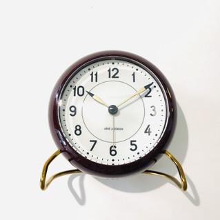 TABLE CLOCK STATION BORDEAUX ROT