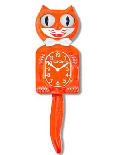 Kit-Cat Klock Orange