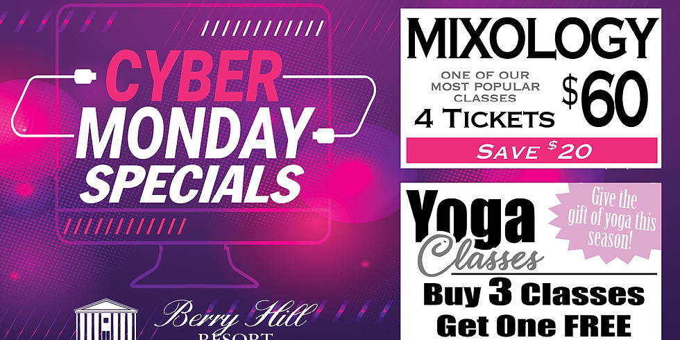 Mixology - Cyber Monday Special