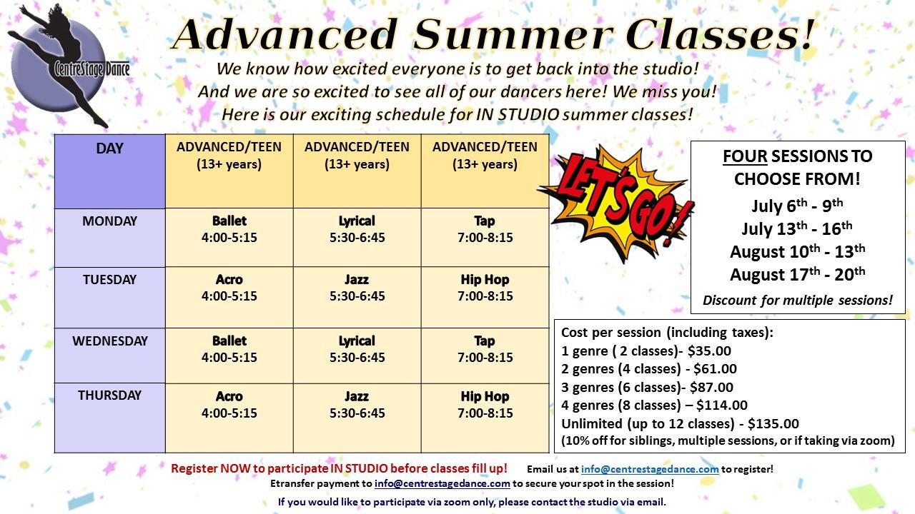Advanced or Teen Classes.JPG
