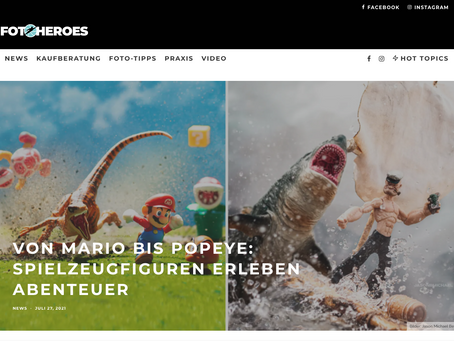 FEATURED on Fotoheroes, a German Online Photography Magazine
