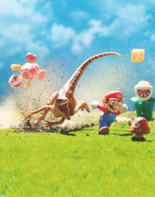 Jurassic Super Mario World