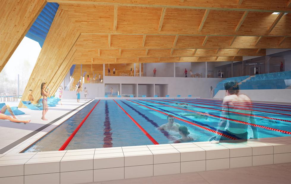 Plavecký bazén - Písek