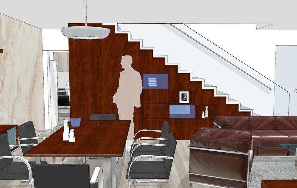 interiér funkcionalistický
