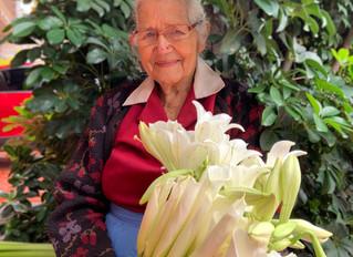 Doña Maria y sus flores
