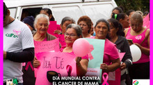 Santa Lucía Celebra el Día Mundial Contra el Cáncer de Mama