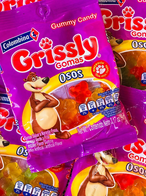 Grissly Gomitas Oso