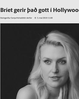 Brie Kristiansen News Article