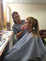 Brie at ABC studios