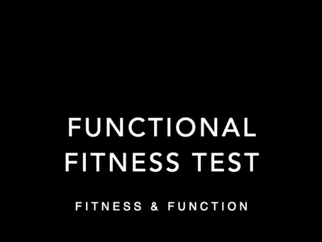 The Virtual Functional Fitness Test