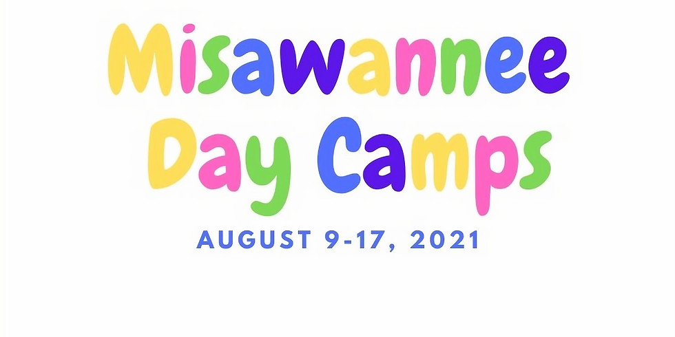 August 14  - ONE DAY CAMP Grades 4-7