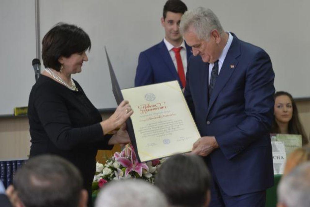 Александра Вранеш и Томаа Диплома