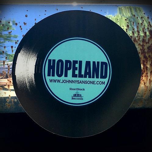 HOPELAND Sticker