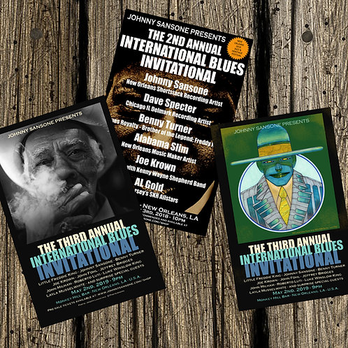 POSTERS from The International Blues Invitational