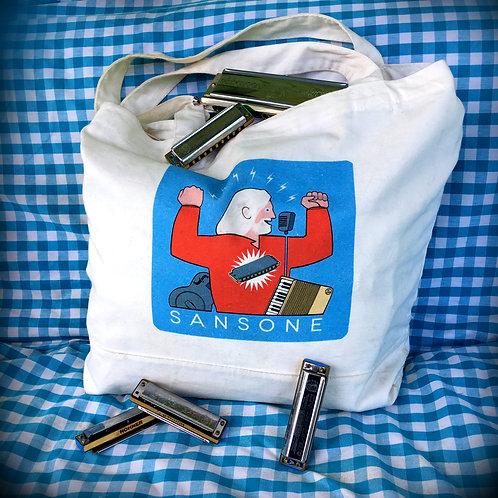 SANSONE Cotton Tote Bag
