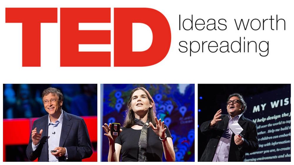 TED Talks - Bill Gates, Daphne Koller e Sugata Mitra