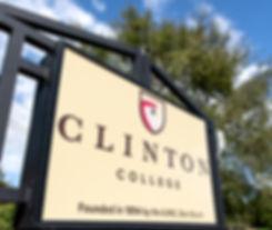 College Main Gate Sign_University Wayfin