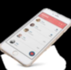 Nexmii UI design Language learning app