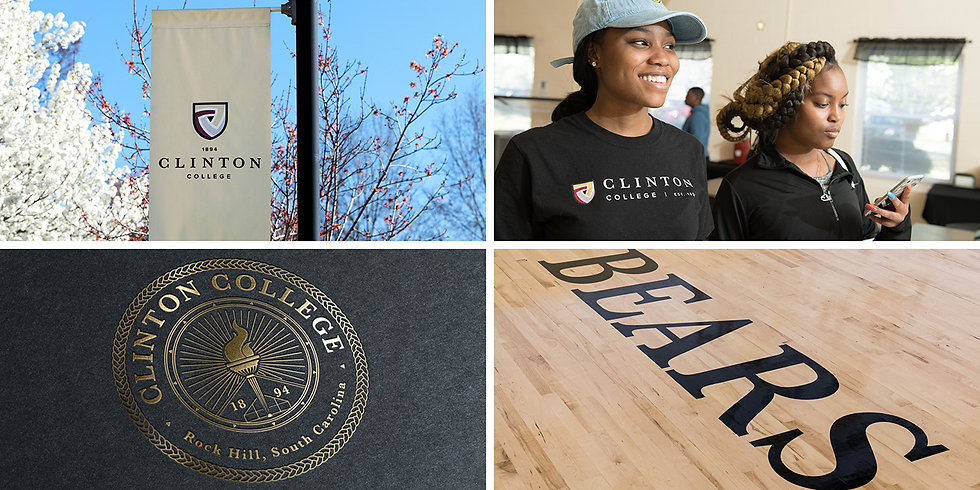 Clinton College Higher Education Rebrand