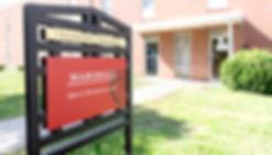 Clinton College Marshall Hall Dorm Signa