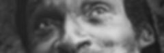 Homeless man's face