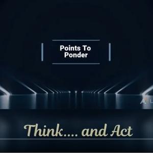 Points To Ponder videos