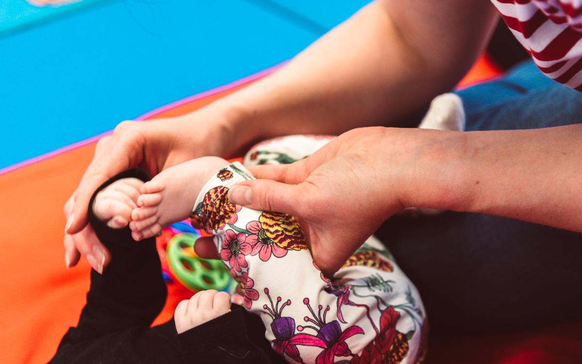 fysioterapia vauva fysioterapeutti