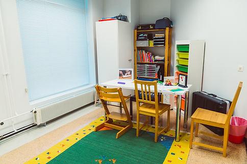 lasten terapiahuone, kuntoutus