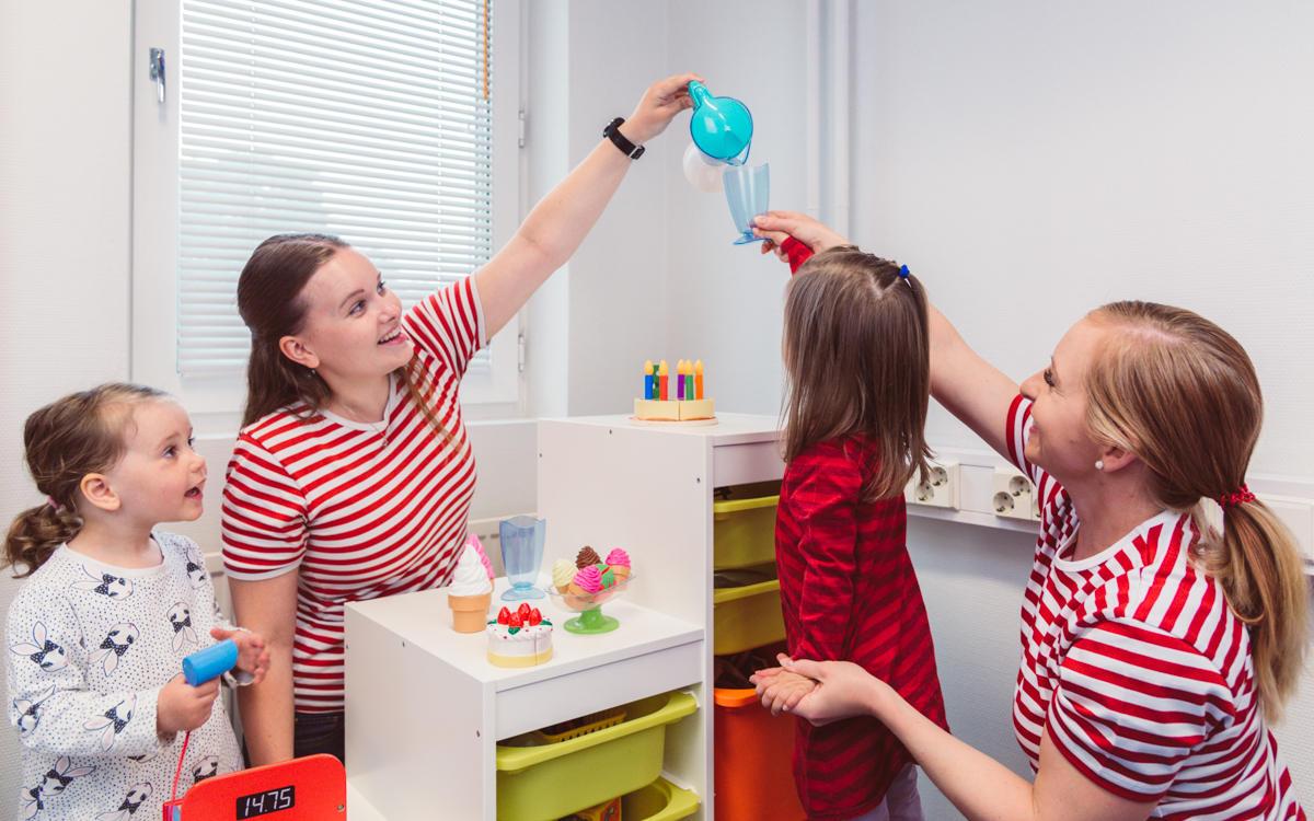 toimintaterapiaa lapsille leikin kautta