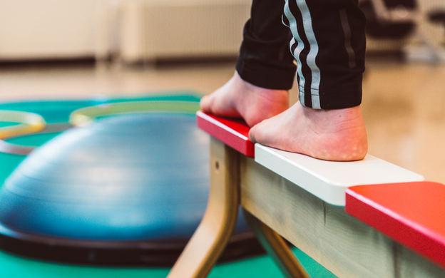 tasapainoharjoitus fysioterapiassa