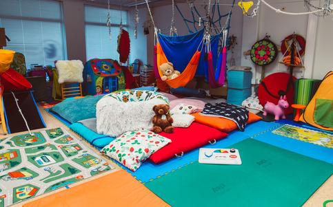 lasten toimintaterapiatila