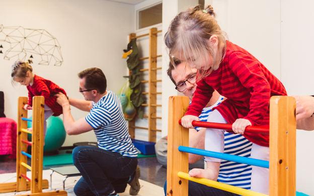 fysioterapiaa lapselle